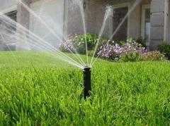 Проект системы полива в Астане