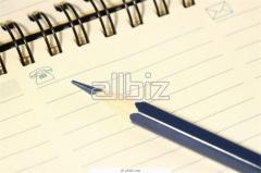 Maintenance accounting again organized enterprises