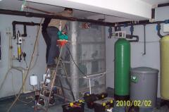 Услуги качественного монтажа и сервиса оборудования очистки воды в особняках и на предприятиях