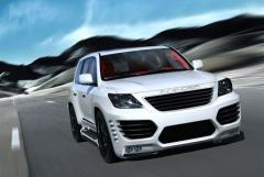 Aerodynamic weather-cloth (bodykit) of INVADER for