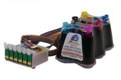 Установка СНПЧ (Система Непрерывной Подачи Чернил) на струйные принтеры Epson