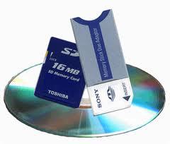 Запись фотографий на DVD-диски