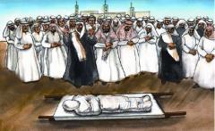 Organization of a Muslim funeral