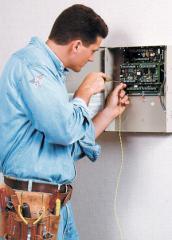 Монтаж систем охранно-тревожной сигнализации в