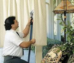 Washing of curtains in Astana