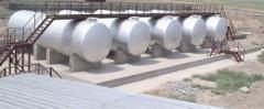 Cтроительство склада ГСМ и хранилища серной