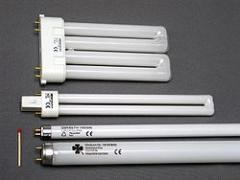 Utilization of the fulfilled luminescence lamps
