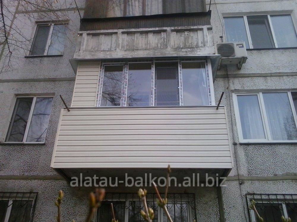 Утепление,остекление и отделка балконов строительные услуги .
