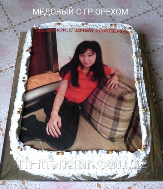 нанесение фото на торт