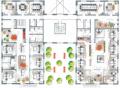 Составление планировки расположения мебели