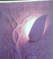 Plaster molding on walls