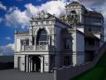 3d визуализация зданий повышенной сложности