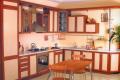 Индивидуальный дизайн угловой кухни