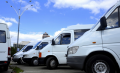 Services in transportation of goods and passengers minibus