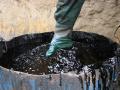 Сбор, регенерация и утилизация отработанных нефтепродуктов, Шлам очистки трубопроводов и емкостей (бочек, контейнеров, цистерн, гудронаторов) от нефти и нефтепродуктов