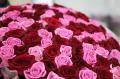 Доставка цветов, 101 роза