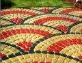 Укладка брусчатки и газоны в рулонах