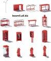 Мы можем изготовить различные элементы интерьера и экстерьера с использованием внешнего образа английской телефонной будки.