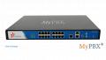 Монтаж мини телефонной станции MyPBX U200, установка,настройка и обслуживание