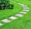 Посев еврогазона и укладка рулонного газона