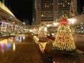 Новогоднее, праздничное оформление зданий, фасадов, парков