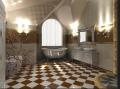 Design design of inhabited and public interiors