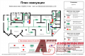 Development of the plan of evacuation, digital forma