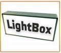 Изготовление наружной рекламы лайт-бокса-короба с люминесцентными лампами