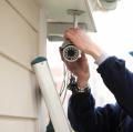 Installation, adjustment of the outdoor CCTV camera