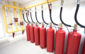 Design, installation and maintenance of gas fire suppression system