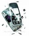 Ремонт аппаратов сотовой связи, Сотовый телефон после падения на твердую поверхность