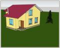 Строительство дома каркасно-щитового
